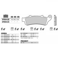 07034 колодки тормозные МОТО(FDB2075)