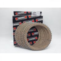 FCD0719 к-кт фрикционный дисков сталь/синтетика, 8шт, 48 зубов для мото DUCATI 1100cc