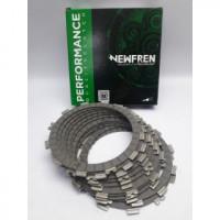 F1339R Комплект фрикционных дисков сцепления мото (FCD1321/1) NEWFREN