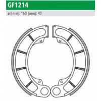 GF1214 Тормозные колодки барабанные мото (FSB711) NEWFREN