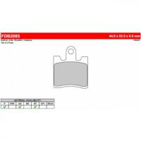 FDB2085ST Тормозные колодки дисковые MOTO, блистер 4 шт