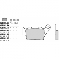 07BB0290 колодки тормозные МОТО (FDB2005)