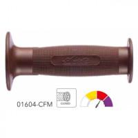 01604-CFM грипсы 2шт PAIR OF GRIPS OFF-ROAD MX 74-BROWN Ariete