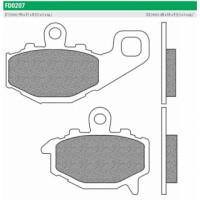 FD0207BT Тормозные колодки дисковые мото ROAD TOURING ORGANIC (FDB2012P) NEWFREN