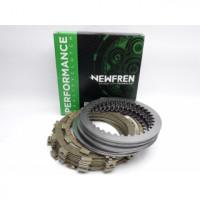 F1468SR Комплект дисков сцепления NEWFREN (фрикционные + металлические) BMW S1000RR HP4