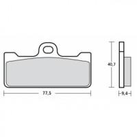 107A48602 M029Z04 Тормозные колодки Brembo Racing (FDB2007, FDB2123)
