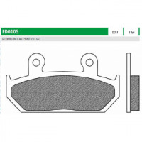 FD0105TS Тормозные колодки дисковые мото ROAD TOURING SINTERED (FDB663) NEWFREN