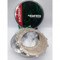 F1335YC Комплект дисков сцепления мото (фрикционные SINTER + металлические) (FCS0671/2) NEWFREN