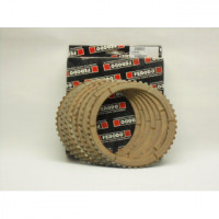 FCD0701 к-кт фрикционный дисков сталь/синтетика, 7шт, 48 зубов для мото Ducati