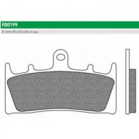 FD0199BT Тормозные колодки дисковые мото ROAD TOURING ORGANIC (FDB873P) NEWFREN