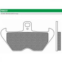 FD0237BT Тормозные колодки дисковые мото ROAD TOURING ORGANIC (FDB2050P) NEWFREN
