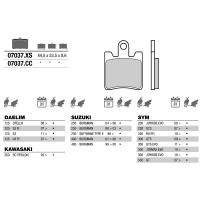 Brembo 07037 колодки тормозные МОТО(FDB2085)