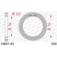 10607-43 звезда задняя (ведомая) стальная , 530, AFAM (JTR343.43)