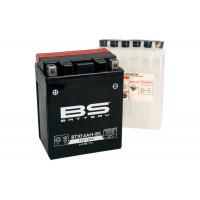 BTX14AH-BS Аккумулятор BS AGM, 12В, 12 Ач 135x90x167, прямая ( +/- ), (YTX14AH-BS)