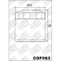 COF063 фильтр масляный МОТО (зам.C301, C312, C313)