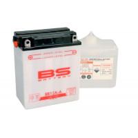BB12A-A Аккумулятор BS, 12В, 12 Ач 134x80x160, прямая ( +/- ), (YB12A-A)