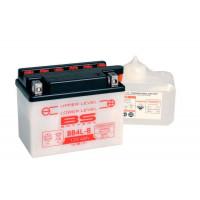 BB4L-B Аккумулятор BS , 12В, 4 Ач 120x70x92, обратная ( -/+ ), (YB4L-B)