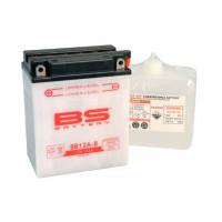 BB12A-B Аккумулятор BS , 12В, 12 Ач 134x80x160, прямая ( +/- ), (YB12A-B)