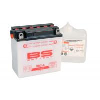 BB7-A Аккумулятор BS , 12В, 8 Ач 135x75x133, прямая ( +/- ), (YB7-A)
