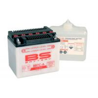 BB7C-A Аккумулятор BS , 12В, 8 Ач 130x90x114, обратная ( -/+ ), (YB7C-A)