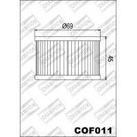 COF011 фильтр масляный МОТО (зам.X304)