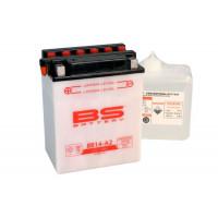 BB14-A2 Аккумулятор BS , 12В, 14 Ач 134x89x166, прямая ( +/- ), (YB14-A2)