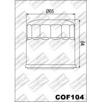 COF104 фильтр масляный МОТО (зам.F308)