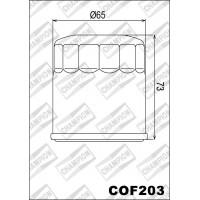 COF203 фильтр масляный МОТО (зам.F306)