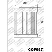 COF057 фильтр масляный МОТО (зам.X335)