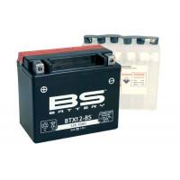 BTX12-BS Аккумулятор BS AGM, 12В, 10 Ач 150x87x130, прямая ( +/- ), (YTX12-BS)