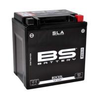 BIX30L (FA) Аккумулятор BS SLA, 12В, 30 Ач 166x126x173, обратная ( -/+ ), (YIX30L)