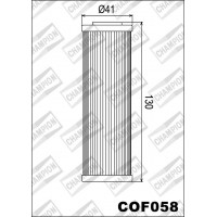 COF058 фильтр масляный МОТО (зам.X340)
