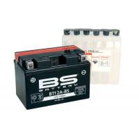 BT12A-BS Аккумулятор BS AGM, 12В, 10 Ач 150x88x105, прямая ( +/- ), (YT12A-BS)