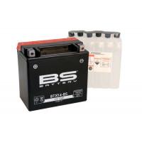 BTX14-BS Аккумулятор BS AGM, 12В, 12 Ач 150x87x145, прямая ( +/- ), (YTX14-BS)