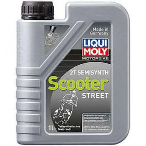 Полусинтетика моторное масло для скутеров Motorrad Scooter 2T Semisynth 1л 3983/1621