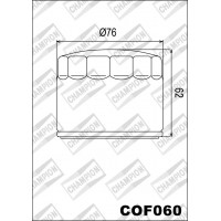 COF060 Фильтр масляный мотоциклетный