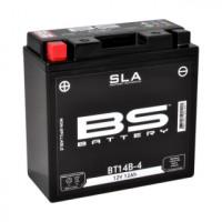BT14B-4 (FA) Аккумулятор BS SLA, 12В, 12 Ач, 210 А 150x69x145, прямая (+ / -), (YT14B-4)