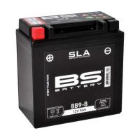 BB9-B (FA) Аккумулятор BS SLA, 12В, 9 Ач, 120 А 135x75x139, прямая (+ / -), (YB9-B)