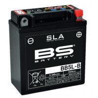 BB5L-B (FA) Аккумулятор BS SLA, 12В, 5Ач, 65 А 120x60x130, обратная ( -/+ ) (YB5L-B)