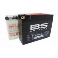 BT4B-BS Аккумулятор BS AGM, 12В, 2.3 Ач 113x38x85, прямая ( +/- ), (YT4B-BS)