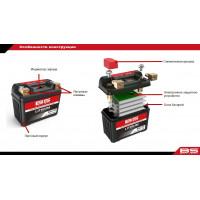 BSLI-01 Аккумулятор BS-Lithium 12В 2 Ач, 25,6 Wh, 120A 86x48x90, обратная ( -/+ )