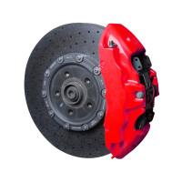 Краска для суппортов FOLIATEC NEON красная, трёхкомпонентная (2185)