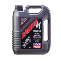 Минеральное моторное масло для 4-тактных мотоциклов Racing 4T 20W-50