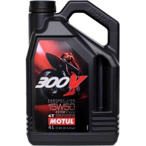 Масло моторное Motul 300v 15w50 4L