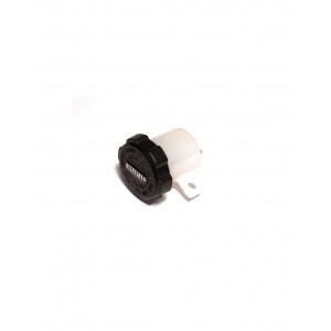 VP001 Бачок для тормозной жидкости белый 15мл Accossato Racing