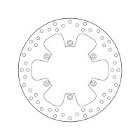 68B407F0 Тормозной диск Brembo