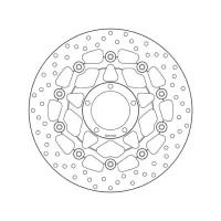 78B40845 Тормозной диск Brembo