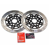 208A98553 Тормозные диски T-Drive Front Rotors BMW S 1000 RR HP4, 2013- Brembo Racing к-т 2шт