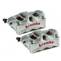 220D02010 К-кт тормозных суппортов Brembo Racing STYLEMA, 100мм (литой моноблок 4*30мм)