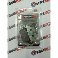 Ferodo FDB2005P Тормозные колодки дисковые MOTO, блистер 2 шт